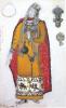 Рерих Н. К., Изольда, 1 акт, эскиз костюма (для оперы Зимина, 1912, не поставлено)